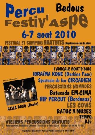 Festival percu festiv'Aspe